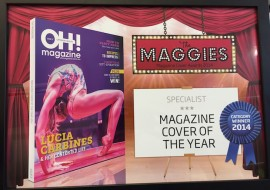 Fitness industry magazine wins highly coveted award!