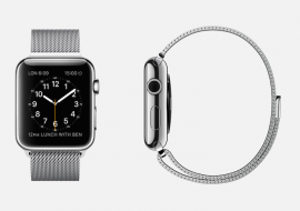 Apple Launches Fitness Watch Alongside iPhone 6